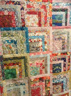 Liberty Hopscotch Quilt 2016 by Suzanne Price