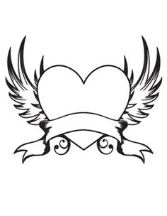 heart with wings - Google Search