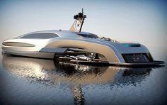 Luxury yacht, wow!