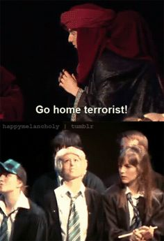 A very potter musical i wish malfoy actually said this