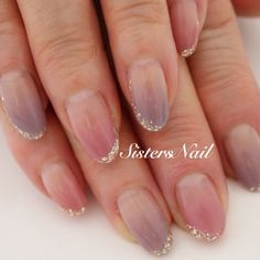 #Nailbook #ネイルブック|ネイルデザインを探すならネイル数No.1のネイルブック Luv Nails, Bling Nails, Fancy Nails, Glitter Nails, Pretty Nails, Bridal Nails, Wedding Nails, Self Nail, Kawaii Nail Art