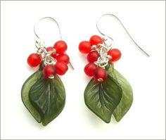 Wild Berry Bunch Earrings