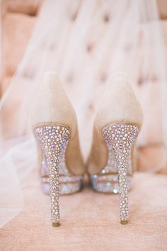 Brian Atwood Heels - Weddings My kind of shoe! Sparkle, Sparkle and more Sparkle!