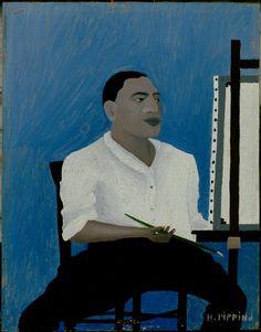Horace Pippin, Self Portrait, 1941.