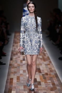 Valentino Fall 2013: Vermeer, Delftware, Tapestry, Tulips, Severe Calvinists, and More from the Dutch Golden Age