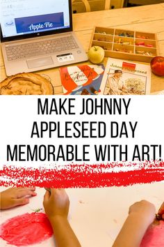 How to add art to every homeschool lesson! Ex. Johnny Appleseed #homeschoollessons #homeschoolart #johnnyappleseed #homeschoolfun Homeschool Curriculum Reviews, Homeschool Books, Preschool Curriculum, Preschool Activities, School Fun, School Days, Johnny Appleseed, Unit Studies, School Lessons