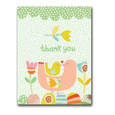 Ecojot Note Card - Mama bird green www.envig.com