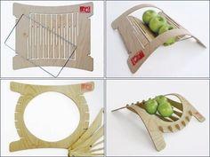 Bend it Like Chissick: CNC-Cut Bent-Ply Bowls : TreeHugger