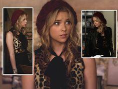 #HannaMarin Leopard print top + maroon hat