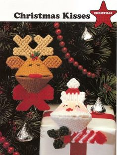 Free Stuff: Plastic Canvas Pattern-Christmas Kisses - Listia.com Auctions for Free Stuff