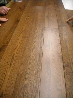 "Maine Traditions Hardwood Flooring Rangeley Collection Wirebrushed Red Oak ""Moose"" Made in USA Engineered Hardwood Flooring, Hardwood Floors, Wood Floor Finishes, Golden Oak, Flooring Ideas, Types Of Wood, Moose, Traditional, Usa"