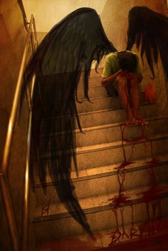 No angel is more beautiful then the ones that have fallen, becoming one with humanity, and realizing the fears in life.