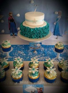 """Frozen """"Glamour"""" theme   CatchMyParty.com"""