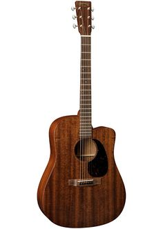 A variation on the D-15 played by Chris Martin of Coldplay, with an all-mahogany body, the Martin DC-15ME produces a warm, rich, full tone.