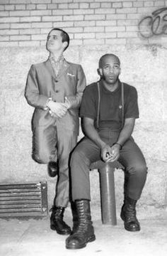 Marcus Pacheco and the birth of Skinheads Against Racial Prejudice Skinhead Reggae, Skinhead Girl, Skinhead Fashion, Skinhead Style, Skinhead Boots, Mens Fashion, Dr. Martens, Afro, Ska Punk