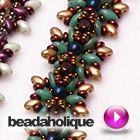 Tutorial - Videos: How to Make the Sunburst Bracelet using Toho Demi Round Seed Beads | Beadaholique