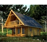 Casa in legno modello Cervino, spessore pareti 88mm Block House, Forest Cottage, Construction, Mountain Homes, Stunning View, House In The Woods, Architecture, Modern Farmhouse, Bungalow
