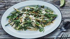Charred Green Beans Recipe | Bon Appetit