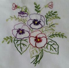 New Monogram Aunt Martha's Hot Iron Embroidery Transfer - Embroidery Design Guide Embroidery Transfers, Hand Embroidery Stitches, Silk Ribbon Embroidery, Hand Embroidery Designs, Vintage Embroidery, Floral Embroidery, Cross Stitch Embroidery, Machine Embroidery, Bonnet Crochet