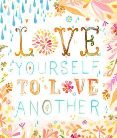 Love yourself (Katie Daisy)
