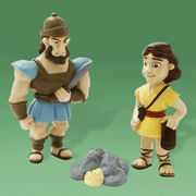 David and Goliath Tales of Glory Play Set