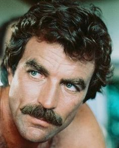 Tom Selleck - the most famous moustache of them all! Cool Mustaches, Moustaches, Movember Mustache, Famous Mustaches, Mustache Grooming, Mustache Man, Men's Grooming, Hipster Bart, Gorgeous Men