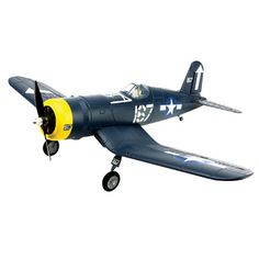 The HobbyZone F4U Corsair S combines a thrilling replica design inspired by the famous gull-wing WWII warbird with modern RC flight technology for a comprehensive teach-yourself-to-fly experience for WWII enthusiasts and new pilots.