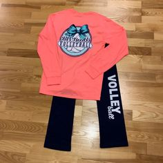 """All I Need Is Volleyball"" and this outfit! #volleyball"