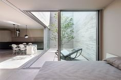 Refúgio Na Montaria - Picture gallery #architecture #interiordesign #bedroom #window #kitchen #courtyard