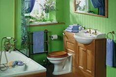 Home Remodel Curb Appeal 55 Cool and Relax Bathroom Design Ideas Remodel Curb Appeal 55 Cool and Relax Bathroom Design Ideas Mobile Home Bathrooms, Cheap Bathrooms, Modern Bathrooms, Blue Bathrooms, Bathroom Colors, Small Bathroom, Bathroom Ideas, Colorful Bathroom, Basement Bathroom