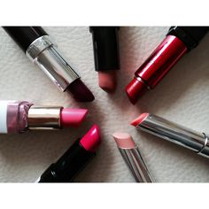 # lipstick # colors # lovely # pink