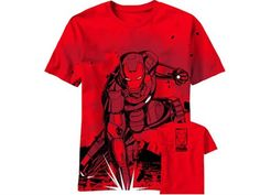 Stand Back T-Shirt - XL - Marvel T-Shirts Iron Man