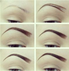 Perfect brows. I don't care I like mine thin with a good arch. No thanks natural brows cause id have a total unibrow