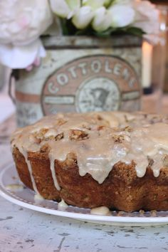 Pumpkin Coffee Cake .......Note: 1-3/4 teaspoons pumpkin pie spice may be substituted for the cinnamon, ginger and cloves.