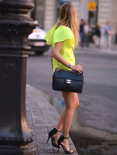 Neon and black
