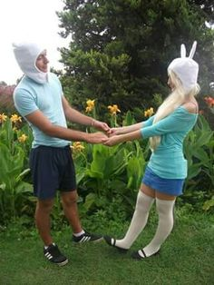 Finn and Fionna ❤ Cosplayer:Sabi Cosplay  #Finn #fionna #adventuretime #cosplay #cosplayer