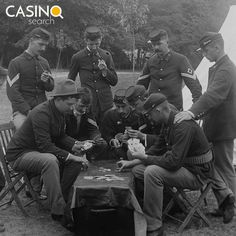 Poker ♦♠♥♣ was a favorite pastime of soldiers during the Civil War, where it's said to have gained much of its recognition and popularity. Video Poker Online, Online Poker, Favorite Pastime, Play Online, Online Casino, Soldiers, Movie Posters, Film Posters, Billboard