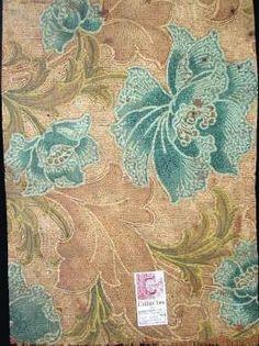 Victorian / Edwardian printed linoleum found in Australia
