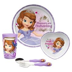 ZAK Sofia Meal Time Set of 5. Sofia The FirstMealsDinner  sc 1 st  Pinterest & Disney Princess Matching Game from Target on Catalog Spree my ...