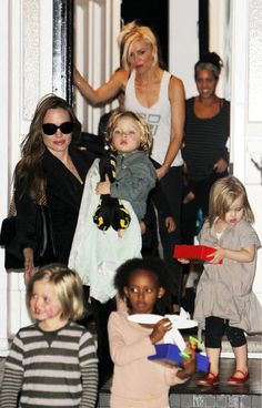 Angelina Jolie & Gwen Stefani...can't get any cooler than this!!
