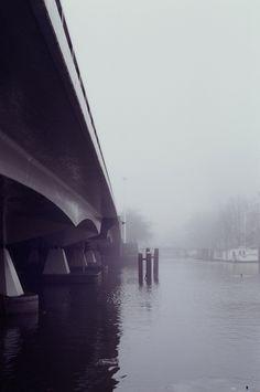Foggy Day, taken in Amsterdam, Netherlands