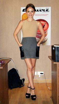 mira | mini dress for fall, fun black heels