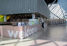 sjasis - Seattle Public Library - Welcome and Check out.JPG
