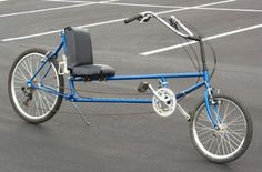 Several years ago, I build a long-wheelbase recumbent bike.  It's a lot more comfortable than my upright bikes.
