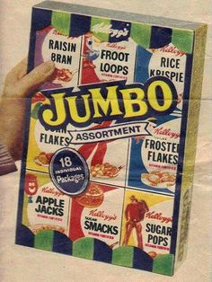 Notice that back in the day, they were called Sugar Smacks & Sugar pops . Not Honey Smacks & Corn pops!
