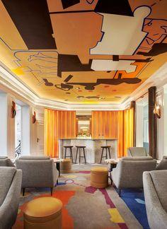 Обновленный отель Vernet в Париже