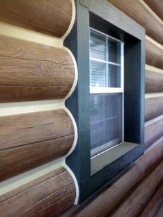 10 Plank Everlog Concrete Log Siding Chinkless Joint