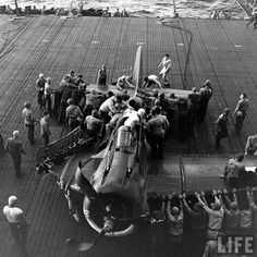 Douglas SBD Dauntless - From USS Lexington (CV-16) and assigned to Bombing Squadron Sixteen (VB-16) - April 1944