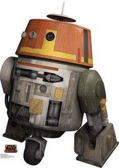 Star Wars Rebels Chopper Cardboard Standup