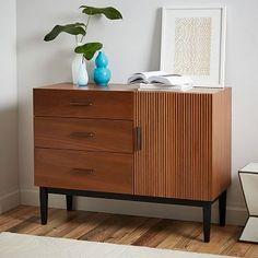 Reede 3-Drawer Dresser + Cabinet #westelm